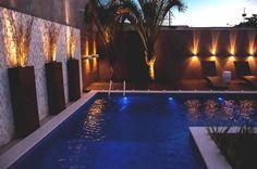 Valorizando a área da piscina com um bom projeto luminotécnico