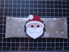 Santa made with SU! punches.