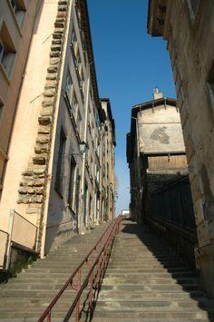 Montée des carmes Lyon France