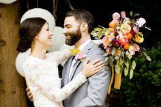Paper Flower Bouquet, Preserved Eucalyptus Bridal Bouquet, Boho Wedding, Alternative Bouquet, Rustic Bride Flowers, Crepe Paper Flowers