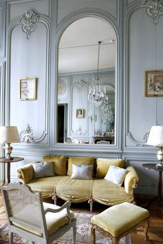 107 Best French Style: Living Room images in 2019 | French ...