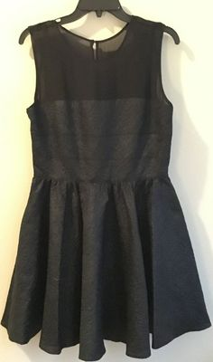 Rachel Zoe NWT black dress, size 10, Free Shipping  | eBay