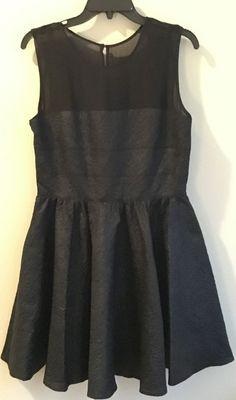 Rachel Zoe NWT black dress, size 10, Free Shipping    eBay