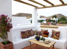 I love all of this. A Mediterranean-inspired Spanish Beach House (Design*Sponge)