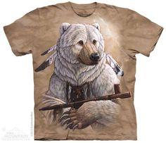 The Mountain - Bear of Peace T-Shirt, $20.00 (http://shop.themountain.me/bear-of-peace-t-shirt/)