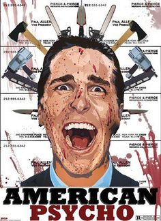 American Psycho - The book is on a different level, absolutely, but the movie is quite nice.
