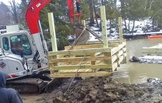 We have the experience, the knowledge, and the equipment to build a new or repair your existing crib dock or boathouse foundation. Foundation Repair, Online Sites, Boat Dock, Boathouse, New Career, Porch Swing, Doctors, Cribs, Deck