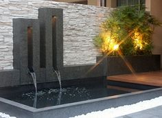 Decoration, Beautiful Luxury Small Indoor Koi Pond Design Ideas ...