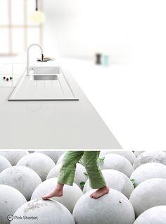 Il lavello Lithos con la colorazione Bianco Alpina è il miglior modo per portare equilibrio e serenità in cucina: le linee ordinate, la solidità del granito e il colore candido diffondono armonia in tutto l'ambiente! :)  http://www.schock.it/lavelli/lithos-cristalite/d100-a/