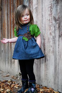 TONS of cute tutorials for sewing clothes for little girls! Great blog.