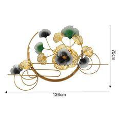 Metal Art Decor, Metal Background, Clock Wall, Design Guidelines, Flower Wall Decor, Metal Flowers, Custom Logos, Copper, Luxury
