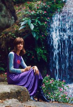 """isabelcostasixties: """"Françoise Hardy, photographed in Brazil by Jean-Claude Sauer (Paris Match), October 1970 """""""