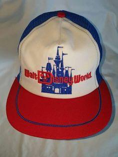 Walt Disney World Snapback Trucker Hat by ResouledGypsy on Etsy 26384ec48118