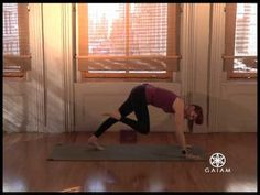 Total Body Transformation Yoga for Weight Loss and Core Strength GAIAM SEQUENCE 2 KNELLING