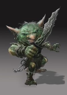 Goblin by ponikstudios.deviantart.com on @DeviantArt