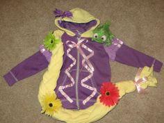 Rapunzel, Chloe, Costumes, Hoodies, Princess, Children, Pattern, Christmas, Diy