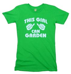 This Girl Can Garden t shirt  - size medium I think. In case anyone is in a gifting mood.