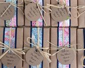 Custom Baby Shower Soap Favors, Wedding favors, All Natural soap, Organic, Eco Chic, Made to Order. $2.75, via Etsy.