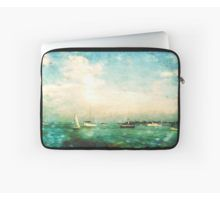 #Laptop #Sleeve @redbubble @KristaDroopArt #KristaDroop #Eye4Dogs #Unique #Original #Texture #Textile #Apparel #Illustration #Colorful #Graphic #Photographer #DigitalArt #WearableArt #Abstract #Navy #Pier #Ocean #Water #Sail #Boats #Blue #Green #Paint #Photographer #DigitalArtist