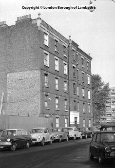 Radnor Buildings, Carlisle Lane, Lambeth 1969