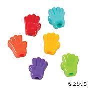 Rainbow Hand Beads