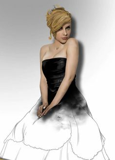 Scarlet Johansson art #art #celeb