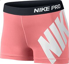 Nike Pro Compression Shorts - Women's at Lady Foot Locker from Lady Foot Locker. Saved to nike pros😍. Nike Spandex Shorts, Nike Pro Shorts, Gym Shorts Womens, Volleyball Spandex Shorts, Nike Compression Shorts, Cheer Shorts, Womens Gym, Women's Shorts, Sport Shorts