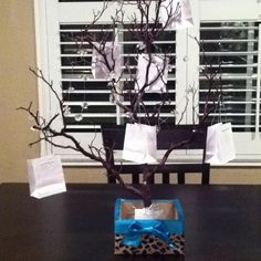 A money tree for a wedding reception. I bought everything I needed ...