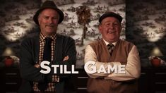 Dear Still Game - you bowed out in true Scottish style. Comedy Series, Comedy Show, Still Game Quotes, Jack And Victor, Theme Tunes, Best Pal, Tv Reviews, Games Images, Gaming Memes