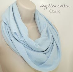 Shoply.com -Infinity Scarf Light Blue. Only $20.00