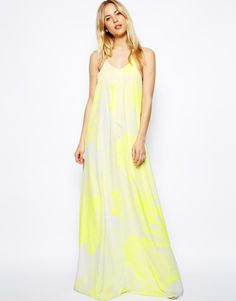 Love this: Maxi Dress with Graphic Print @Lyst