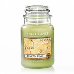 Lemon Lime : Large Jar Candle : Yankee Candle