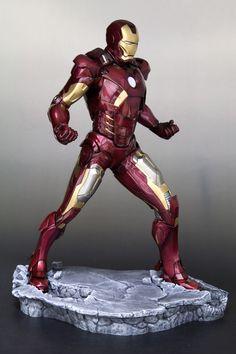 Marvel Mangaverse: Iron Man Mark VII - ARTFX Statue - 1/6 (Kotobukiya)