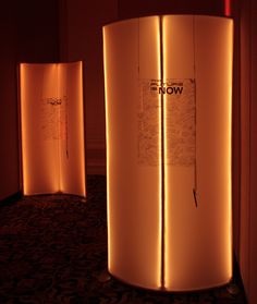 Our Curved Spandex LED Signature Wall is a great piece to have your attendees write a special note of appreciation right on the wall.