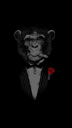Gangsta chimpanzee
