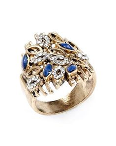 Antique ring with stones