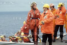 Diana , Princess of Wales - BP Forties' Charlie Platform Tour , le 03 septembre 1985 _ Suite