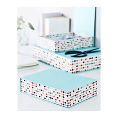 HEJSAN Box, set of 3  - IKEA