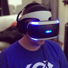 VR has a ways to go but man is this stuff getting cool. Finally got to play with #playstationvr. Pretty neat.  #instagood #instagamer #gamer #games #gamerguy #videogames #virtualreality