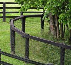 Need hints on installing field (wire mesh) fencing please