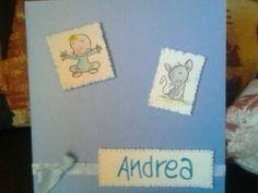 Card nascita Andrea