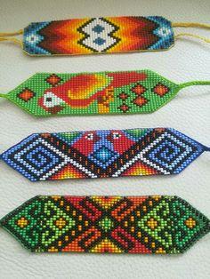 Native American Beadwork, Beaded Jewelry Patterns, Beaded Choker, Loom Beading, Bead Weaving, Anklets, Friendship Bracelets, Handmade Jewelry, Chokers