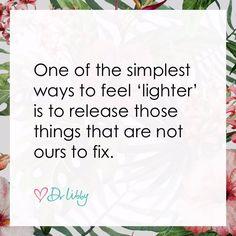 Feel Lighter | Dr Libby