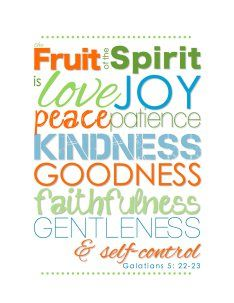Fruit Of The Spirit Introduction and Guidelines – #FOSChallenge   KANAYO