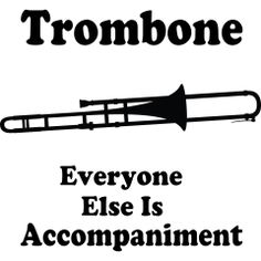 surprise people with trombone music