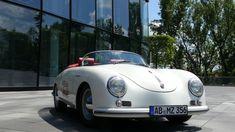 Turn-e El Speedster: Elektrischer Porsche OIdtimer Porsche 356 Replica, Autos, Filling Station, Gymnastics