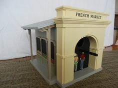 New Orleans French Market Birdhouse - Sage Green Color