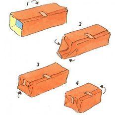 stappenplan pakjes inpakken