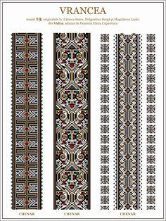 Loom Beading, Beading Patterns, Lace Knitting, Knitting Patterns, Palestinian Embroidery, Embroidery Motifs, Art Logo, Cross Stitching, Cross Stitch Patterns