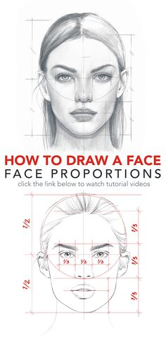 """Find the free Face Proportions Guidance in my board """"How to Draw. How I Draw"""". Find the free Face Proportions Guidance in my board """"How to Draw. How I Draw"""". Pencil Art Drawings, Art Drawings Sketches, Drawing Faces, Horse Drawings, How To Draw Faces, Drawing Art, Animal Drawings, How To Sketch Faces, Sketches Of Faces"""